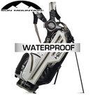 Sun Mountain USA H2NO Lite Waterproof 14-Vaks Standbag, zwart/wit/javagroen