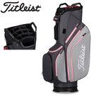 Titleist Lightweight Cartbag Golftas, grijs/roze