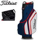 Titleist Lightweight Cartbag Golftas, navy/wit/rood