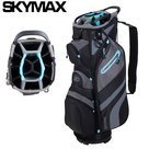 Skymax LW Cartbag Golftas, zwart/lichtblauw