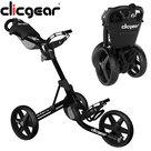 Clicgear 4.0 Golftrolley, Mat Zwart