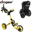 Clicgear 4.0 Golftrolley, Mat Geel