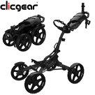 Clicgear 8.0 Plus Golftrolley, Mat Zwart