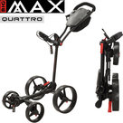 Big Max Blade Quattro Golftrolley, zwart