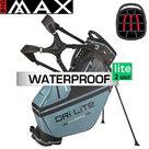 Big Max DriLite Hybrid Tour Standbag Golftas, blauw/grijs