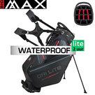 Big Max DriLite Hybrid Tour Standbag Golftas, zwart/rood