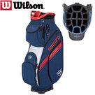 Wilson Staff EXO 2 Cartbag, blauw/rood