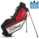 Titleist Players 4 StaDry Standbag Zwart/Wit/Rood