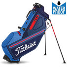 Titleist Players 4 StaDry Standbag Navy/Blauw/Rood