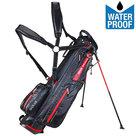 Big Max Aqua 6 Mini Waterproof Standbag Golftas, Zwart/Rood