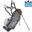 Big Max Aqua 8 Standbag Golftas, Grijs/Oranje