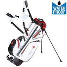 Big Max Aqua 8 Standbag Golftas, Wit/Rood