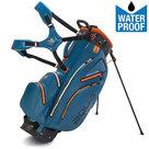 Big Max Aqua Hybrid Standbag Golftas, Blauw/Oranje