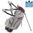 Big Max Aqua Hybrid Standbag Golftas, Grijs/Rood
