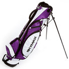 Skymax 6.5 Inch Standbag Golftas, Wit/Paars