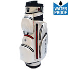 Big Max Aqua Silencio 2 Waterproof Cartbag Golftas, Wit/Rood