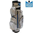 Big Max Aqua Silencio 2 Waterproof Cartbag Golftas, Zilver/Blauw