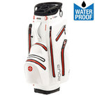 Big Max Aqua Tour Waterproof Cartbag Golftas, Wit/Rood