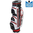 Spalding Zero Contact 2.0 Waterproof Cartbag Golftas, Zwart/Wit/Rood