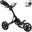 Clicgear 3.5+ Golftrolley, Zwart
