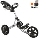 Clicgear 3.5+ Golftrolley, Zilver