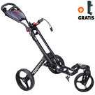 Fastfold 360 Golftrolley, Zwart