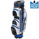 Spalding Zero Contact 2.0 Waterproof Cartbag Golftas, Zwart/Wit/Blauw