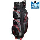 BagBoy C-302 Waterproof Cartbag Golftas, Zwart/Grijs/Rood