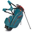 Big Max Aqua Hybrid Standbag Golftas, Blauwgroen/Oranje