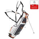 Big Max DriLite 7 Standbag Golftas, Wit/Oranje