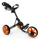 Clicgear 3.5+ Golftrolley, Zwart/Oranje
