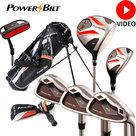 Powerbilt FZ3 halve golfset heren