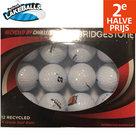 Perfect-Lakeballs-Bridgestone-A-Kwaliteit-Golfballen-12-Stuks-Wit
