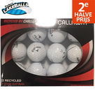 Perfect-Lakeballs-Callaway-Mix-A-Kwaliteit-Golfballen-12-Stuks-Wit