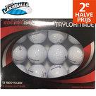 Perfect-Lakeballs-TaylorMade-A-Kwaliteit-Golfballen-12-Stuks-Wit