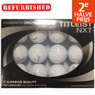 Perfect-Lakeballs-Titleist-NXT-Refurbished-Golfballen-12-Stuks-Wit