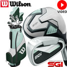 Wilson Prostaff SGI Complete Golfset Dames Graphite