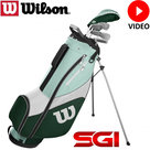 Wilson Prostaff SGI Halve Golfset Dames Graphite