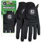 Footjoy Weathersof Golfhandschoen Zwart (2 Stuks)