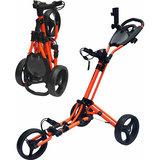 Fastfold Trike Deluxe Golftrolley Oranje