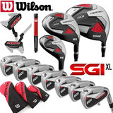 Wilson Prostaff SGI XL Uitgebreide Complete Golfset