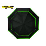 Bagboy Telescopic Umbrella Zwart/Lime
