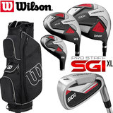 Wilson SGI XL Prostaff SGI XL Complete Golfset Heren Graphite & Prostaff Cartbag
