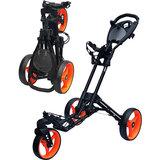Fastfold 360 Golftrolley Zwart/Oranje