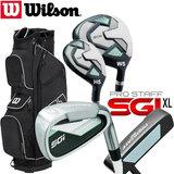 Wilson SGI Prostaff SGI XL Complete Golfset Dames Graphite & Prostaff Cartbag