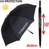Fastfold Golfparaplu Met UV Bescherming