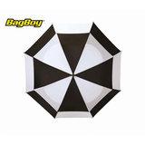 Bagboy Telescopic Umbrella Zwart/Wit
