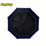 Bagboy Telescopic Umbrella Zwart/Blauw