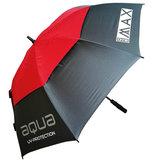 Big Max Aqua UV Paraplu Antraciet/Rood