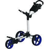 Fastfold Slim Golftrolley Wit/Blauw